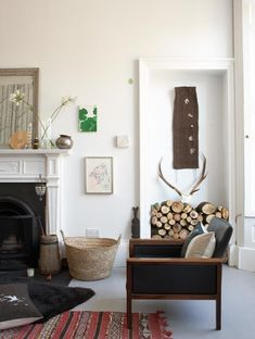 Eclectic, vintage inspired spaces in Scotland