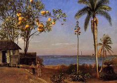 Albert Bierstadt - A View in the Bahamas