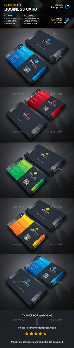 Modern Business Card Template PSD. Download here: https://graphicriver.net/item/modern-business-card/17206796?ref=ksioks