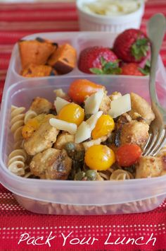 Tons of healthy lunch packing ideas