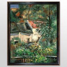 House of Piere la Croix - Paul Cezanne