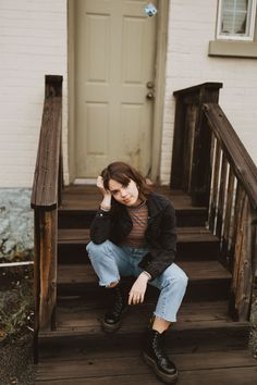I'm Jessa. A wedding, couple, and elopement photographer based out of Utah and open for travel! Hipster Style, Hipster Fashion, Fashion Vintage, Grunge Fashion, Vintage Outfits, Grunge Dress, Grunge Outfits, Brown Dr Martens, Dr Martens Outfit