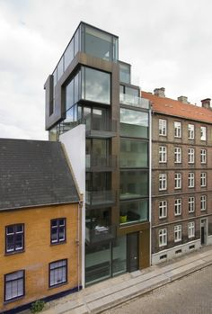 generic coolness, but I like the line that draws across the facade...4B / Holscher Arkitekter