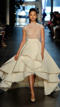 Most daring wedding dresses from Bridal Fashion Week!