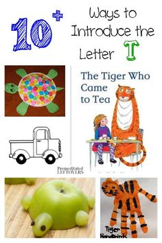 are you looking for fun ways to teach the alphabet here are 10 ways to introduce the letter t with activities crafts recipes and more