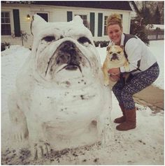 30 Creative and Funny Snowman Ideas - Clicky Pix this one is Amazing!