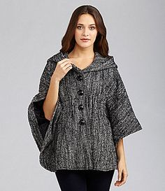 Steve Madden Hooded Cape Coat #Dillards