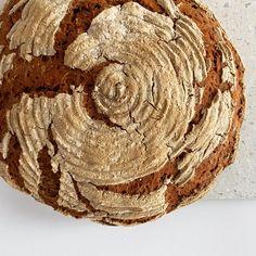 reines Roggenbrot mit Sauerteig Food, Wheat Free Recipes, Breads, Bakken, Essen, Meals, Yemek, Eten