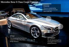 Mercedes Benz S Class Coupe concept | 2014 Detroit Auto Show #NAIAS