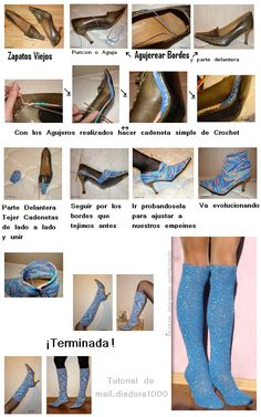 como-transformar-unos-zapatos-en-botas