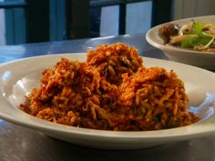 Jambalaya recipe from Diners, Drive-Ins and Dives via Food Network