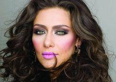errores de maquillaje famosas - Buscar con Google