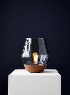 T.D.C | Bowl Table lamp by New Works