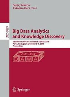 Big Data Analytics And Knowledge Discovery PDF