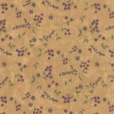 Buttercream-Sprigs-Lady-Slipper-Lodge-Quilt-Fabric-by-the-1-2-yd-83-12