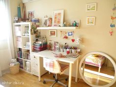 ideas for organizing the office/craft room