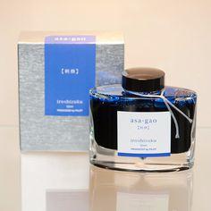 "Asa-gao ""Morning Glory"" Iroshizuku Fountain Pen Ink 50ml from Bookbinders Online"