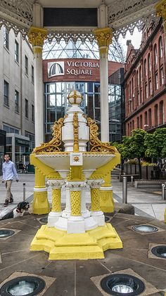Jaffe Fountain - Victoria Square Belfast is within walking distance of the Belfast Business Centre.