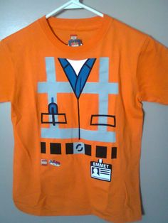 NWT The Lego Movie Emmet Shirt Size 6x Boys NEW Lego Movie Birthday, Lego Movie Party, Birthday Diy, Birthday Ideas, Lego Costume, Party Central, Mini Vacation, Movie Themes, Everything Is Awesome