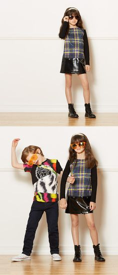 Add a bit of attitude to your kids' looks with Versace childrens fashion.