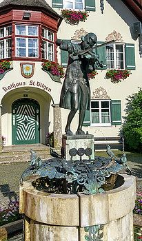 Statue Of Young Wolfgang Amadeus Mozart In St. Gilgen, Austria by Elenarts - Elena Duvernay photo French Trip, Amadeus Mozart, Travel Around Europe, Austria Travel, Framed Prints, Canvas Prints, Famous Places, 18th Century, Travel Photos