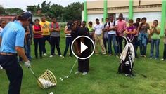 We appreciate PGA golfers Rafa Campos and Ernesto Vitienes for sharing their experience and knowledge in a golf clinic with the students of Ann and Ted Kheel Polytechnic School. #PuntacanaResort&Club www.facebook.com