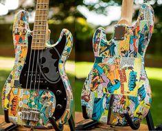 Batman cartoon p-bass