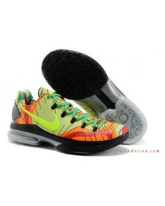 low cost 16fd5 2dbed 2014 Fluorescence Green Red Nike KD V Elite For Wholesale. Kobe ShoesNike  ...