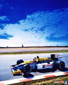 1986 Portugal Williams FW11 HONDA