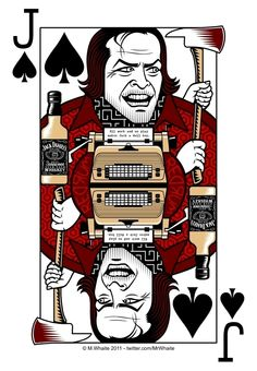 Joker card the Shining