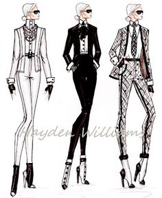 Fashion Elite collection: Karl Lagerfeld by Hayden Williams     http://timemart.vn/305/p/430035/tranh-theu-chu-thap.html    http://timemart.vn