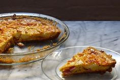 Gluten-Free Ham and Cheese Quiche with an Everything Crust