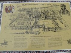 Richmond Palace, Thames Path, Tudor Architecture, King Henry Viii, Tudor History, Royal Palace, Queen Elizabeth, Vintage World Maps, Deborah Harkness
