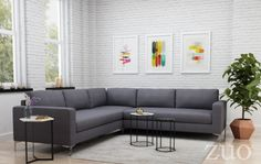 The Jackson 3-piece sectional sofa in charcoal features an unique bench style chaise seats and plush seat / back cushions made from poly-linen fabric. Invite family and friends over to enjoy this very attractive sofa. Buy now and save 10% by entering code FIRST10. Hurry while supplies last (hint only 4 left) and before this offer ends in July . Buy now at: https://inoutdoorliving.com/products/sectional-sofas-modern-furniture-sells-best-living-room-furniture