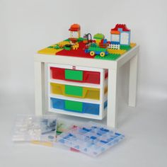 Speeltafel Met Opbergruimte.Lego Tafel Met Opbergruimte Meubels Door Eigen Handen