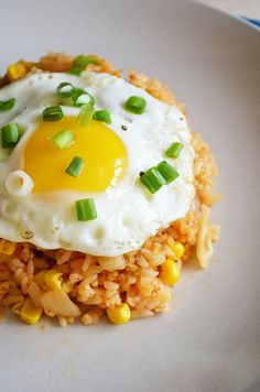 The Best Kimchi Fried Rice | Sprig and Flours