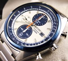 SEIKO-SNDF87P1-Chronograph-Herren-Uhr-Vintage-Dial-100m