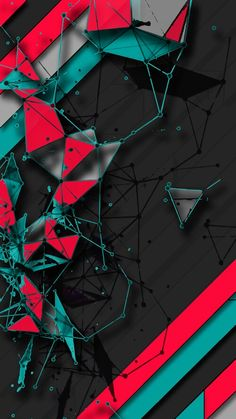 Black And Red Wallpaper Abstract And Geometric Wallpapers