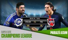 Chelsea : cota 8.00 , PSG : cota 7.00 - oferta de bonus de la Netbet - Ponturi Bune