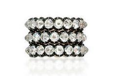 Diamond eternity bands by JAR - Lily Safra auction