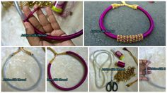 How to make silk thread necklace
