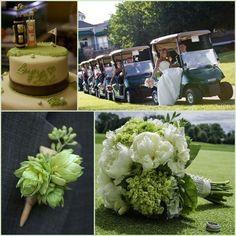 http://eweddingssecrets.com | Golf Themed Outdoor Wedding Ideas | HotRef Party Gifts ☻. ☺ ☻  ☂