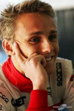 Max Chilton  - 2019 Regular blond hair & alternative hair style.
