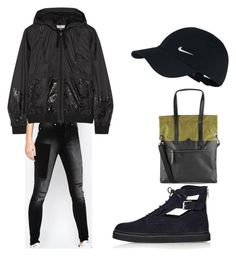 """""""Untitled #115"""" by mer10ve ❤ liked on Polyvore featuring NIKE, Cheap Monday, Hunter, adidas, Topshop, baseballcap and baseballhats"""