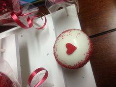 Valentines day  red velvet pops