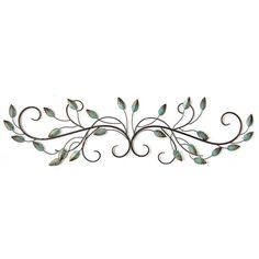 Stratton Home Decor Leaf Scroll Wall D cor >>> You can find more details by visiting the image link.