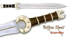 Celtic Sword - The Celtic Combat War Sword Swords And Daggers, Knives And Swords, Celtic Sword, Celtic Warriors, Bravest Warriors, Sword Design, Arm Armor, Military Guns, Fantasy Armor