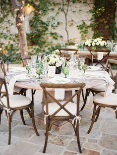 Green Garden Wedding -- See more on http://www.StyleMePretty.com/2014/04/08/organic-garden-affair-in-san-juan-capistrano/ Photography: Erich McVey - erichmcvey.com  -- #smp