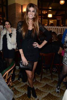 Los invitados a la fiesta de Bvlgari en París para celebrar la Colección de Accesorios 2013: Bianca Brandolini