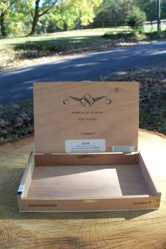 Cigar Box Senticillo Wooden Chest Two In Stock by IndustrialPlanet